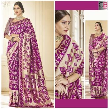 Buy Now @ https://goo.gl/Fxg9HH  Magenta Banarasi Silk Woven Saree  Fabric → Banarasi Silk  Product No → CBS-1063  www.clothboat.com #chaniyacholi #ghagracholi #indianwear #indianwedding #fashion #fashions #trends #cultures #india #womenwear #weddingwear #ethnics #clothes #clothing #indian #beautiful #lehengasaree #lehenga #indiansaree #clothboats #bridalwear #bridal #indiandesigner #style #stylish #bollywood #kollywood #celebrity #outfits #clothboat #sarees