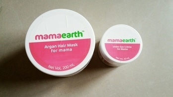 I Have received this most awaited products from #mamaearth ... I couldn't control myself from using this hair mask ... right now I'm not talking about the hair mask effects on my hair. Now enjoy this picture.  Anyway did you try these two products from the brand? What are your thoughts?    #hairmask #eyecream #bblogger #beautyblogger #blogger #puneblogger #haircare #hairlove #eye #roposoblog  #roposostory #roposodaily #blog #bloggerlife #lifestyle #hair #dailyfeed #blogspot #balmblog #reviewblog  #beautyandlifestylemantra #roposolike