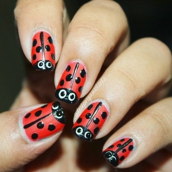 #ladybug #ladybugnails #nailpolish #nailpolishaddict #nailpolishlover #nailpolishlove #nailpaints #nailsoftheday #mattenails #nailart #nailartclub #nailartdesign #nailartwow #nailartaddict #nailartist #nailartdesign #lovefornailarts #instanailart #instanailstyle #instanails #nailartblogger #easynailart #nailartlove #nails #nailarts #nailpolish #nailartworld #glossynails #shinynails