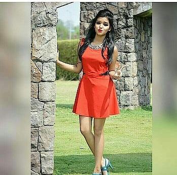 #orangelove #shortdress #hot-hot-hot #boldness