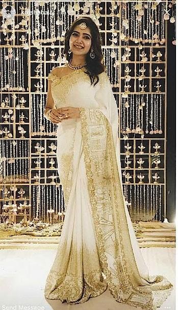#samantharuthprabhu #weddingwear