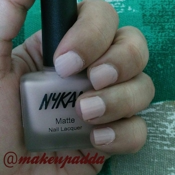 #newblogpost #Review on #Nykaa Matte Nail Lacquer in Shade Pink Meringue -28 is up on www.makeupadda.com . . . . . . Click the link below 👇👇 to read more about this beautiful nail enamel... https://goo.gl/G5ZEMQ . . . . #NailEnamel #nails #nykaanails #nykaanailpaint #nykaanailpaints #nailsoftheday #nail-addict #mattenails #mattenailpaint #mattenailpolish #matte  #makeuplover #makeuplove  #makeup  #indianmakeupandbeautyblogger   #indianblogger #blogger ✍✍   #likeforlikeback #igmakeup #shoutoutforshoutout  #instamakeup #instafollow #l4l  #tagforlikes #followback #followforfollow #follow4follow #instablogger #productreviewer #productreview #instagood #tbt  #photooftheday #followme #likeforlike #femaleblogger #fbloggersindia #fbloggersindia #productreviewoftheday  #discoverunder5k   #roposoreview #roposoreviews #reviewer #reviewoftheday #beautyproductreview  #productreviewblogger #reviewblog #instagood #tbt  #photooftheday #followme #likeforlike #femaleblogger #fbloggersindia  #roposo #roposoblogger #social #socialmedia #makeupandbeauty #makeupandbeautyblogger #makeupreview #makeupreviewer #productoftheday #productreview #productreviewoftheday  #makeupreview #makeupreviewer  #roposo #roposostory #socialmedia #followontwitter #followfacebook #followme #facebooklikes #makeupblogger #makeupblog #productreview #productoftheday  #makeupandbeautyblogger  #socialmediaaddict  #socialmedia #social #roposo #roposostory #makeupreview #makeupreviewer  #followontwitter #socialmediainfluencer #roposome #roposoblogger