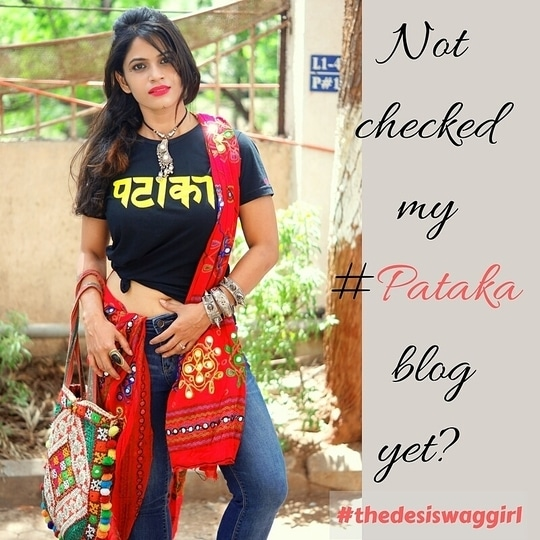 hey guys check my pataka blog  click on link in bio www.desiswaggirl.com follow me on insta -vinisingh14 for more fashion update #fashionblogger