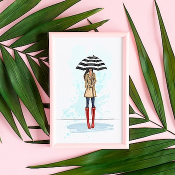 inspiration for rainy gloomy days. Painted this a while back.  Leave me a comment if you like it. :-) #Art #Fashion #Inspiration  #Ootd #StyleAPastiche #FashionBloggers #indianbeautyblogger #Indianfashionblogger #Instaglam #Instachic #Instafashion #Fashiongram #OotdShare #Streetstyle #StyleBlogger  #winterfashion #TBT #wintercare #winteriscoming #BangaloreFashionBlogger #MaxFashion #roposotalks #soroposo #roposolove #roposodaily