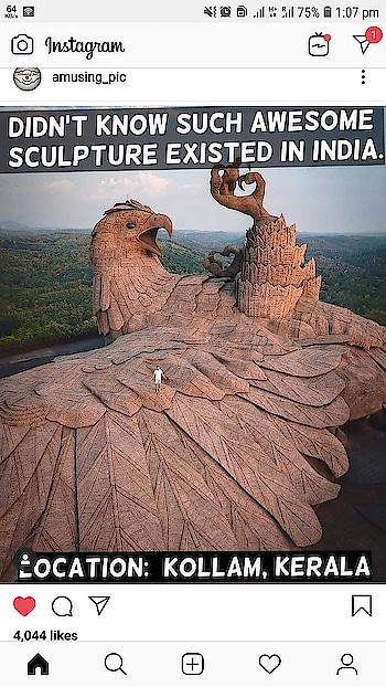 Eagle Sculpture....India
