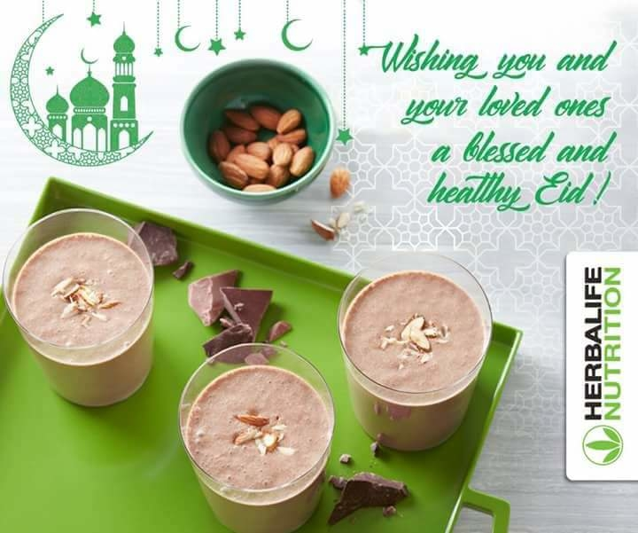 Wishing you and your loved ones a blessed and healthy Eid.  #HerbalifeNutrition  #weightloss #Eid