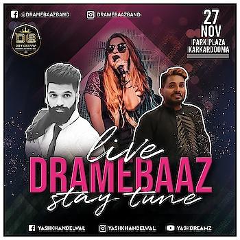 Heading towards the best ❣  #performing_tonight #live #dramebaaz #dj_based_band