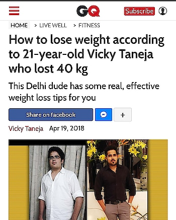 https://www.gqindia.com/content/how-to-lose-weight-40-kg-2-years/ #roposing #roposo-style #ropo-good #ropo-style  #gq #gqmagazine #gqindia #gqmen #followme #fattofit #transformation #story #loveyourself #bestoftheday #ootdmen #fitness #menshealth #healthyliving #lifestyle #share #shoutout