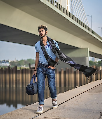 INTO ALL SHADES OF BLUE SUMMER CASUALS ! . . OUTFIT BY - @kollars.2018 . . SHOT BY - @thedaydreamstudio . . . Hair by - @hairfactorysurat . . #TSDFAM  #thestyledweller  #summer #casual #blue #breeze #allblue #menwithstreetstyle  #menscasual  #menswear #mensclothing #fashionblogger  #fashioninfluencer  #fashion #trend #suratinfluencer  #indianinfluencer  #indianblogger  #surat #india