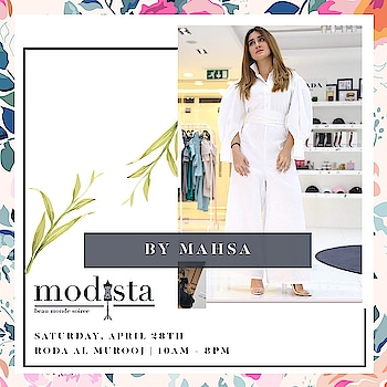 Be Real , Be You💗 @bymahsa showcasing the latest deisgns at Modista at The Roda Al Murooj, from 10am-8pm !! . . . #Modistadxb #Fashion #FashionHouse #fashionLifestyle #LifestyleExhibition #RodaAlMurooj #Dubai #DubaiEvents #EventinDubai #shoppers #MyDubai #Uae #MyUae #luxury #indianstyle #ootd💗 #like4like #pretwear #follow4follow