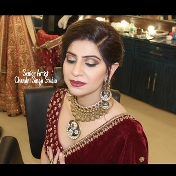 Senior Artist Makeup at Chandni Singh Studio.   For appointments call 📞- 011-41666441/42 / 9971263666📱 Chandni Singh Studio , E-16 , Upper Ground Floor ,Hauz Khas , New Delhi - 110016 ➖➖➖➖➖➖➖➖➖➖➖➖➖➖➖➖➖➖ Snapchat - Chandni.singh 🎬 Youtube - Chandni Singh Studio  #makeup #mua #makeupaddict #makeupexpert #chandnisingh #smokeyeyes #airbrush  #makeupjunkie #airbrushmakeup #career#education  #chandnisinghstudio #newdelhi #delhi #delhimakeupartist #delhiblogger  #makeupjunkie #beauty #hair #gorgeoushair #simplemakeup #CSbride #chandnisingh #chandnisinghstudio #chandnisinghacademy #bridesofindia  #indianbridalmakeup #indianbride  #makeupartistworldwide #bridal