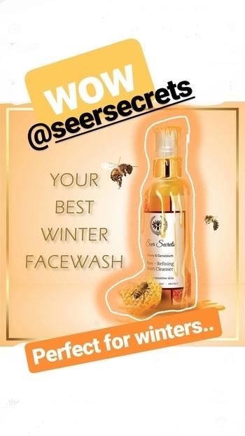 #newlaunches #seersecrets #winter #winterskincare