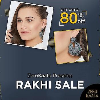 Get upto 80% off on handmade jewellery, only at #rakhisale by @zerokaata  Visit www.zerokaata.com now to create your wishlist  #zerokaata #tribalbyzerokaata #rakhigifts #rakhigiftsforsister #giftsforrakhi #rakshabandhanspecial #rakshabandhan #rakhi2019 #rakhigiftforsister #rakhigiftstosister #rakhigiftsforsisterunder500 #rakshabandhangifts #festivaljewelry #festivaljewellery #festivecollection #festiveseason #festivalfashion #festivevibes #giftsforwomen #giftsforgirls #giftsforyou