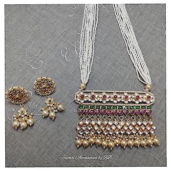 Sabhyasachi inspired jadau jouels 💞💞 For Bookings  Whatsapp - 7503577614  Call -9250236640  #silver #puresilver #heritage #silverexclusive #intricate #holiday #silverjewellery #silverlove #indianbeauty #makeup #mua #silversmith #indialove #worldjewellery #oneofakind #handcrafted #bloggers #handmadejewellery #indianbloggers #ig_india #celebstyle #madeinindia #statement #dubai #nothingordinary #delhi #mumbai #pune