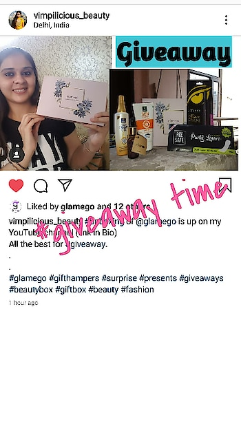 #glamego #giveaway  @vimpilicious