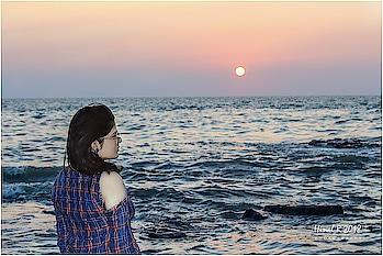 #sunset #bestoftheday #beautifulview #peaceofmind #goodtimespend