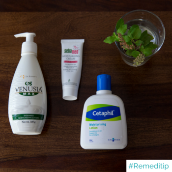 Combat dry skin by applying moisturiser. This winter make ke sure you don't skimp out on moisturiser.  Our latest blog post discusses a skin condition known go get worse during winters, atopic eczema. Check out the blog post now! (link in bio)  #Remedico #RemediTip #healthcare #skincare #haircare #skin #hair #dermatologist #dermatology #expert #specialist #convenient #home #tech #startup #like #love #follow #read #reading #metime #time #personal #happy #potd #picoftheday #photooftheday #nofilter #fairnesscreams