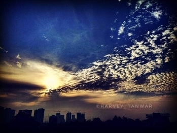 #nature  #sunset  #view  #from  #terrace  #photographyislife  #adventure