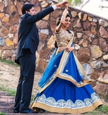 Swaying here on the rhythm of his love!  Image Credit: studiorgbindia  #WedLista #FashionForWeddings
