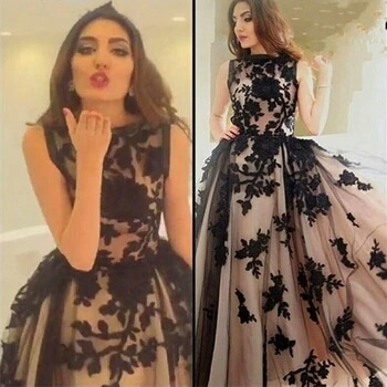i want this dress soo badly😍😍😍 you all can buy this at aliexpress.com 💖 #evening-gown #gowndress #gownlove #dress-up #nudecolours #beigelove #blackembroidery #trensetters #lovelovelove #likeforlike  ##followforfollow #roposo👍 #sara #skfashion #indianbloggersroposo #lucknowblogger #muahhhh #xoxotag #followme ❤