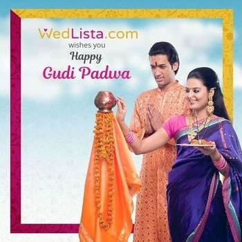 WedLista.com wishes you a very happy #GudiPadwa!   May you have a blessed year full of love & togetherness.  #WedLista #FashionforWeddings