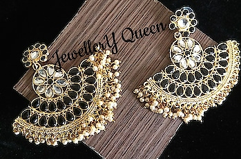 Golden Plated ChandBali Shaped Fashion Earrings 👌 Buy From Jewellery Queen At Best Price 😊☺️ Shipping Free 👌👌👌👌  To Place Order Or More Details Whatsapp +918193932010 #lengha #bridal #jewellery #jewelry #earring #necklace #goldearring #templejewellery #bollywoodjewellery #fashionjewellery #indianjewellery #weddingjewellery #kundanjewellery #polkijewellery #goldjewellery #silverjewellery #jewelleryqueen #bangles #chandbali #indianwedding #indianmarriage #indianfashion #kundan #GermanSilver #OxidizedSilver  Shipping Available All Over India Paytm And Netbanking Only  https://www.facebook.com/jewelleryqueenofficials https://www.instagram.com/jewelleryqueenofficials