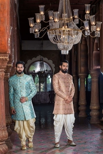 These striking personalities  @nayaan & @shahnawazalam at their best 👐👐 from the groom wear #catalogue  series #1 #khushboomishrastyling #stylistdiaries #stylistlife #model #ethnic #ethnicwear #sherwani #sherwanistyle #peshawari #indian #groom-wear #loveing #roposo #roposotalks #celebrity #male #malemodel #set #shootlife #shootlove #catalogueshoot
