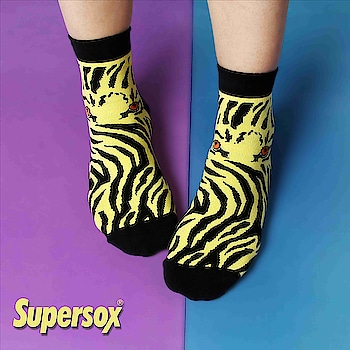 Get bold and wild with these leopard printed socks - by supersox    #Supersox #supersocks #fashionable #mensstyle #womensstyle #sockswagg #latestfashion #fashion2018 #stylestatement #bollywoodfashion #menssocks #girlsocks #colours #colourfulsocks #stylishkids #trendoftheday #garments #toddlers #toddlersofinstagram #bloggerofindia #mens #womens #fashiondivas #wear #indianwear #outfits #cottonsock #terrysocks #shoesandsocks
