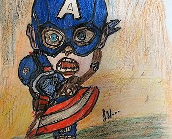 #marvelcomics  #captainamerica #avenger #avengersinfinitywar #avengersendgame