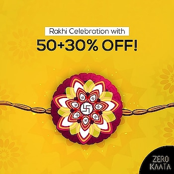 ". 🌷🌷Jewellery Sale : 🌷🌷 . ------------------------------------------------ FLAT 50% OFF AND 30% USING CODE "" RAKHI30"". ------------------------------------------------ . . Celebrate The Festival Of Bond With Our Unique Designs. . What are you waiting for.?? . Go to www.zerokaata.com before your favourite designs get sold out . . #rakhisale #rakhisale2017 #rakhisale2018 #rakhabandhan #rakshabandhan2017 #rakshabandhanspecial #jewellery #jewelry #rakshabandhan🎁🎁❤️❤️ #rakshabandhangifts #rakshabandhancelebrations #rakshabandhan😍 #fashionblogger #jewelrystore #jewelry #OnlineShopping #shopping #accessories #indianjewellery"