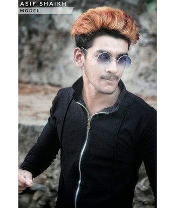 You Call Yourself Ugly But, Darling I'm An Artist I'll Even Appreciate An Ugly Piece Of Art. #RoposoTalentHunt #hairstyle #haircoloured  #poser #look #2k17 #smart #handsome #selfconfidence #attitude #modeling #model #nameisenough #fashionblogger #favpic #dontjudgeme #positivevibes #sameermark #sameer_mark #follow #me #instagram #shaikhasifofficial