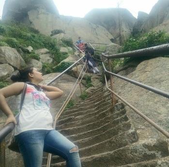 trekking#shivgange#bangalore#weekendgetaway #friends #adventurelover#awesomedayout
