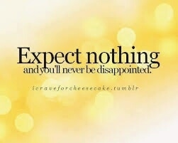 Dats wat I expect.....