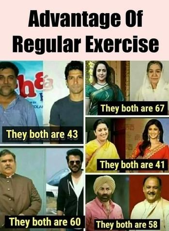#Regular exercise