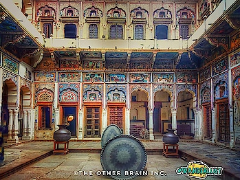 """India is the cradle of human race, the birthplace of human speech, mother of history, grandmother of legend & the great grand mother of tradition."" - Mark Twain   Walk by the historic open art gallery like town of #shekhawati area in #rajasthan and stay in around 100 yrs. old #haveli here.  #incredibleindia #india  #art #fresco #mandawa #rajasthaniprint #rajasthandiaries #roadtrip #welcome2018 #happynewyear #travel #wanderlust #roposotravel #roposotraveller #roposotalenthunt #theotherbraininc #nomadsdiary #iamthere #jhunjhunu #offbeat #newdelhi #jaipur #gurgaon #weekendtrip #like4like #wanderlust"