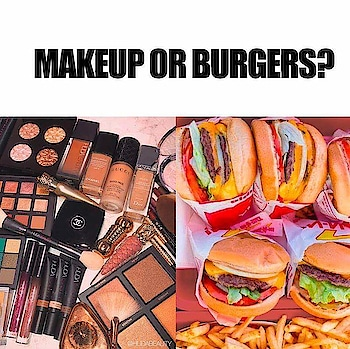 Which one would you choose? 🤔 Love for beauty or love for food? ❤️❤️❤️🍔 #beauty #ropo-beauty #very-beautiful #food #foodlover #foodloverfoodpic #dailypost #followmeonroposo