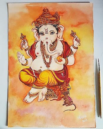 #jaishreeganesh #ganpati #bappa #morya #madaboutbappa #mad_about_bappa