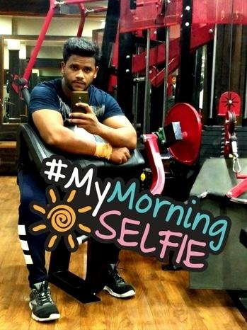 #gymlife ##fitnessfreak #physique #bodybuilding #roposo #trending #menwithclass #roposostyleblog #saturdaymorning #gymselfie #pumped #gains  #bearded-men #mensphysique #mymorningselfie