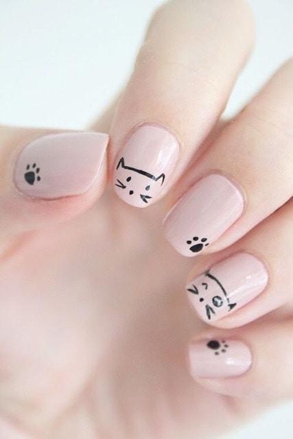 http://shoutbyfashion.com #nailart #catlover #nail-addict #shoutbyfashion