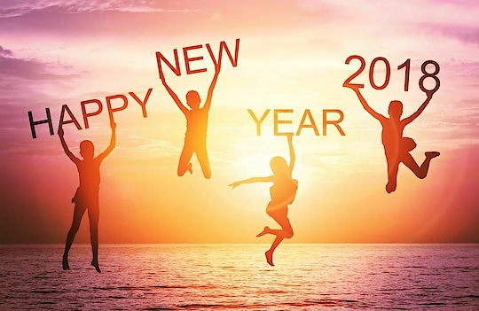 happy New year to My all friends