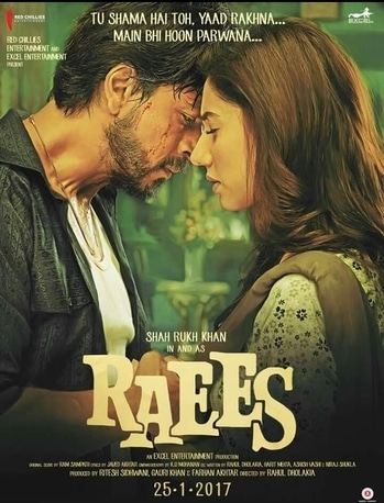 Book your tickets soon. #raees
