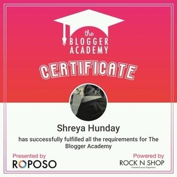 : yayyyyy!!! #roposobloggeracademy #graduated #indianblogger #kolkatablogger #diyblogger #indianyoutuber #kolkatayoutuber