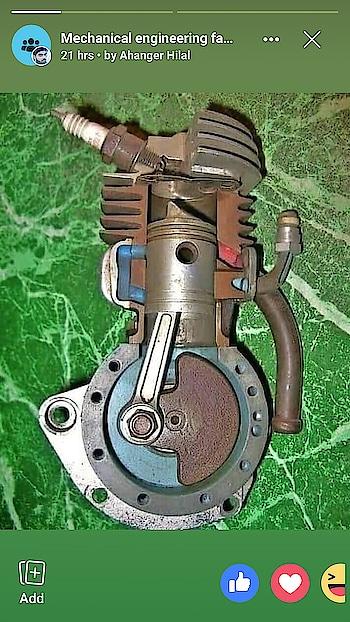 reciprocating cylinder piston mechanism