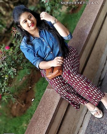 Always SMILE cuz u never know whoz gonna fall in love with that smile🙈 . . . . . #sunnyday#roposolove#soroposo#roposolook#roposofeed#greenery #palazzopantforgirls #photoofthedayy #shotononeplus #oneplus5tphotography 📷 #blogger #bloggercommunityclub #loveblogging  #bloggerlife #hyderabadfashionblogger #roposo-fashiondiaries #hyderabadfashionblogger#indianfashionbloggercommunity#fashionaddict #summeroutfitt #popoxodaily#popxoblognetwork#indian #hyderabadii #denimskirt #onlyindia  #potraitmode 📱
