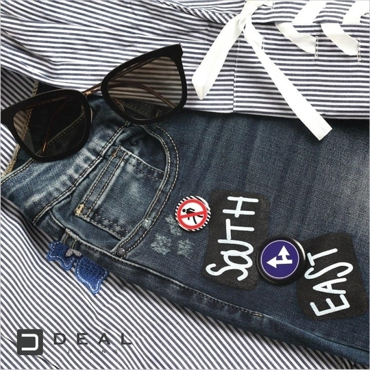 A perfect pair of the globetrotter in you! #DealJeans