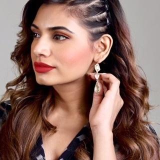 💕 Troika Stone Danglers ➖➖➖➖➖➖➖➖➖➖➖➖➖ Shop now 👉 damselcode.com ➖➖➖➖➖➖➖➖➖➖➖➖➖ .  #earrings #cuteearrings #blueearrings #tealearrings #danglers #greentassel #bling #designerjewelry #blackearrings #greendanglers #designerearrings #shoppingindia #onlineshopping #shopindia #instashop #fashionista #fashion #fashionblogger #instashopindia #chennaifashion #bangalorefashion #delhifashion #ahmedabadfashion #mumbaifashion #punefashion #like4like #bollywoodfashion #celebrityfashion #celebritystyle #bollywoodstyle
