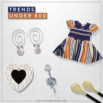 Want to find trendy essentials at affordable prices & don't know where to go? Head to www.mangocloset.com.  #under800 #accessorize #designer #designer-wear #homedecor #kids #kidsfashion #dress #dresses #footwear #designercollection #designerearrings #designerfootwear #indiandesigner #cheapfashion #clutch #mangocloset