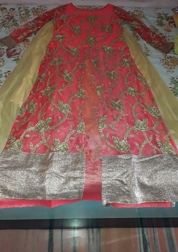 #net #top-skirt #indo-western