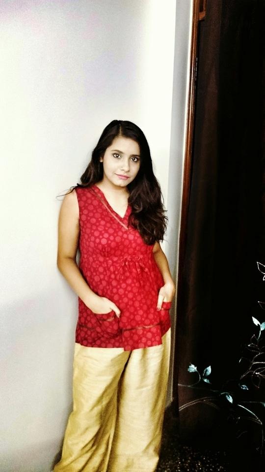 Indo western feels ❤ . .  #roposotalenthunt #fashion #blogger #style #delhiblogger