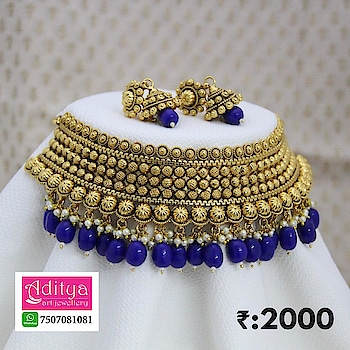 •WhatsApp For Order : 7507081081  •Cash On Delivery 📦 •Free Shipping All Over INDIA On Orders ₹:1000 & Above •For Orders Less Then ₹:1000 Shipping Charge ₹:100 📦 ♥🇮🇳Most Loved Art Jewellery Brand Of INDIA ❤ Download Aditya Jewellery App On Your *Android Phone* Or *iPhone* 📲 For Latest Designs , You Can Order Jewellery Directly From Aditya Jewellery App ..   . #adityaartjewellery #jewelry #jewels #jewel #socialsteeze #fashion #gems #gem #gemstone #bling #stones #stone #trendy #accessories #love #crystals #beautiful #ootd #style #fashionista #accessory #instajewelry #stylish #cute #jewelrygram #fashionjewelry